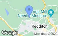 Map of Redditch, Worcestershire