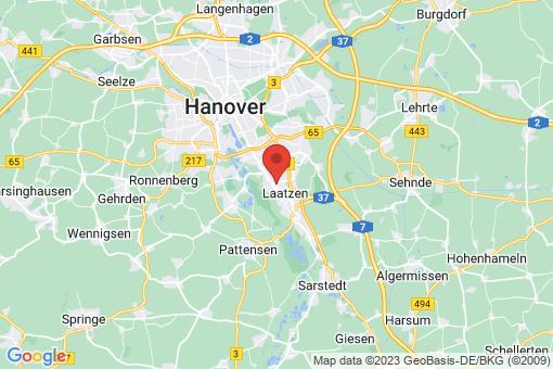 Karte Laatzen