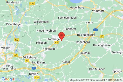 Karte Stadthagen Habichhorst-Blyinghausen, Habichhorst
