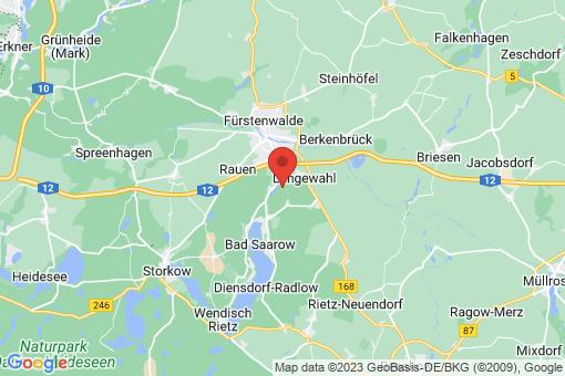 Karte Bad Saarow Petersdorf