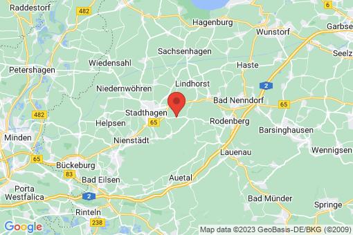 Karte Stadthagen Habichhorst-Blyinghausen, Blyinghausen