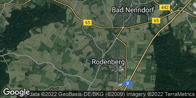 Google Map of Rodenberg