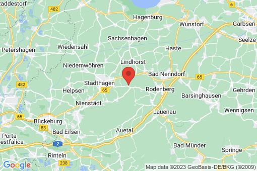 Karte Stadthagen Reinsen-Remeringhausen