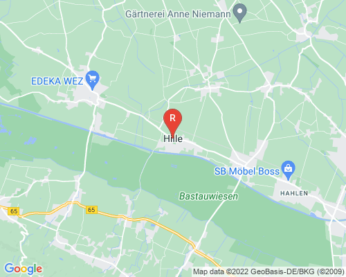 Google Karte von Rohrreinigung Hille