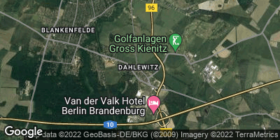 Google Map of Dahlewitz