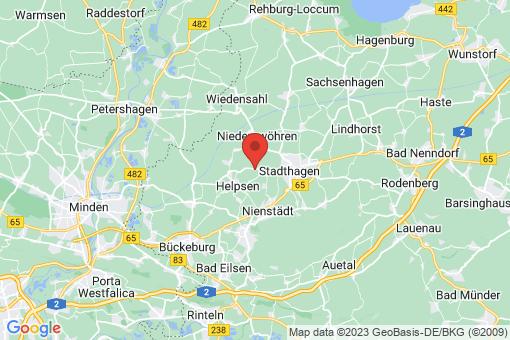 Karte Stadthagen Hobbensen