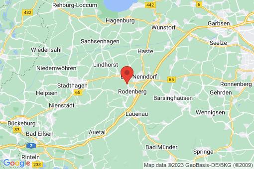 Karte Rodenberg Algesdorf