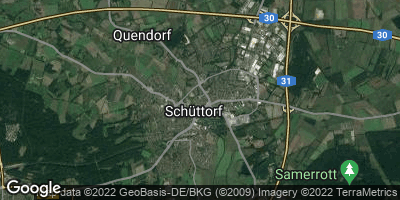 Google Map of Schüttorf