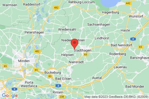 Karte Stadthagen Enzen