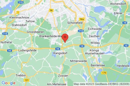 Karte Groß Kienitz