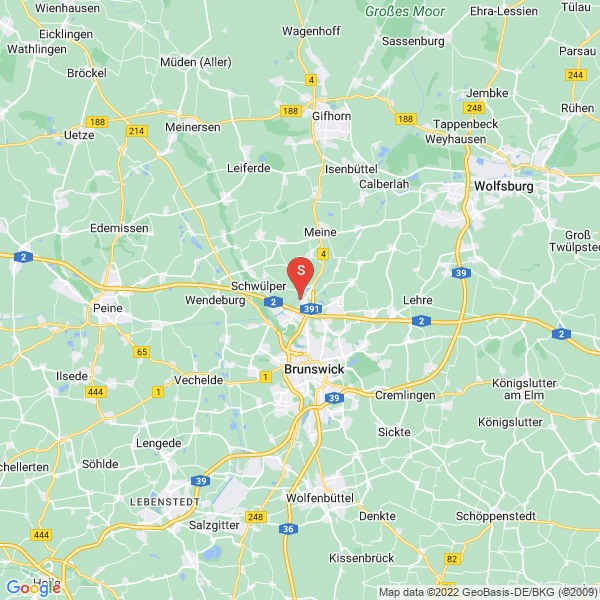 Disc Golf-Anlage Braunschweig Lessing Gymnasium