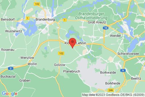 Karte Kloster Lehnin