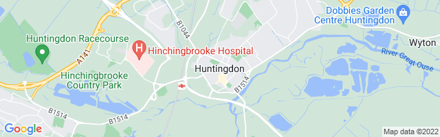 Map Of Huntingdon