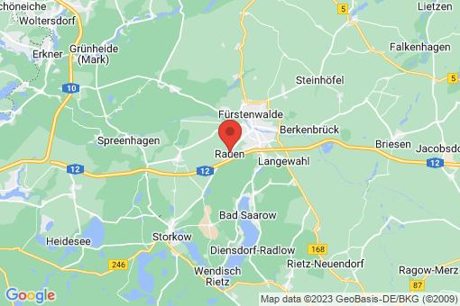 Karte Rauen