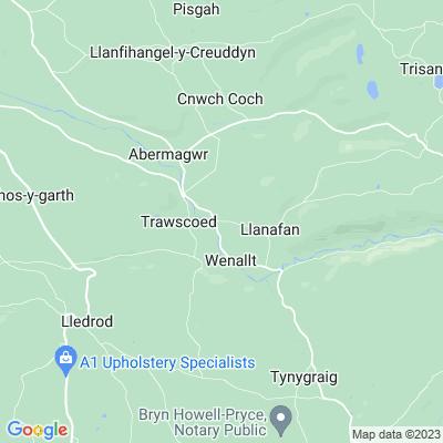 Trawsgoed Location