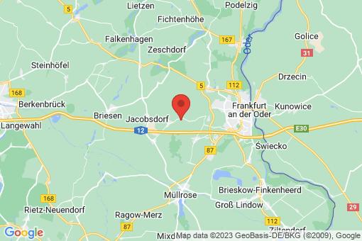 Karte Jacobsdorf Jacobsdorf