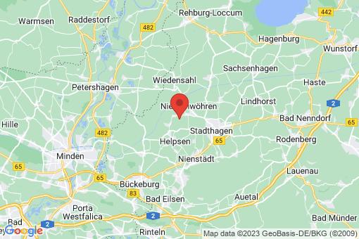 Karte Meerbeck Kuckshagen
