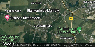 Google Map of Blankenfelde-Mahlow
