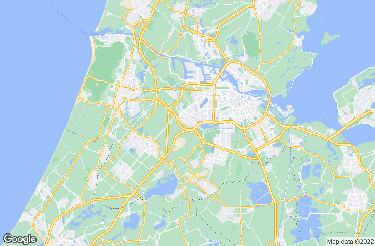 Google Map of Badhoevedorp