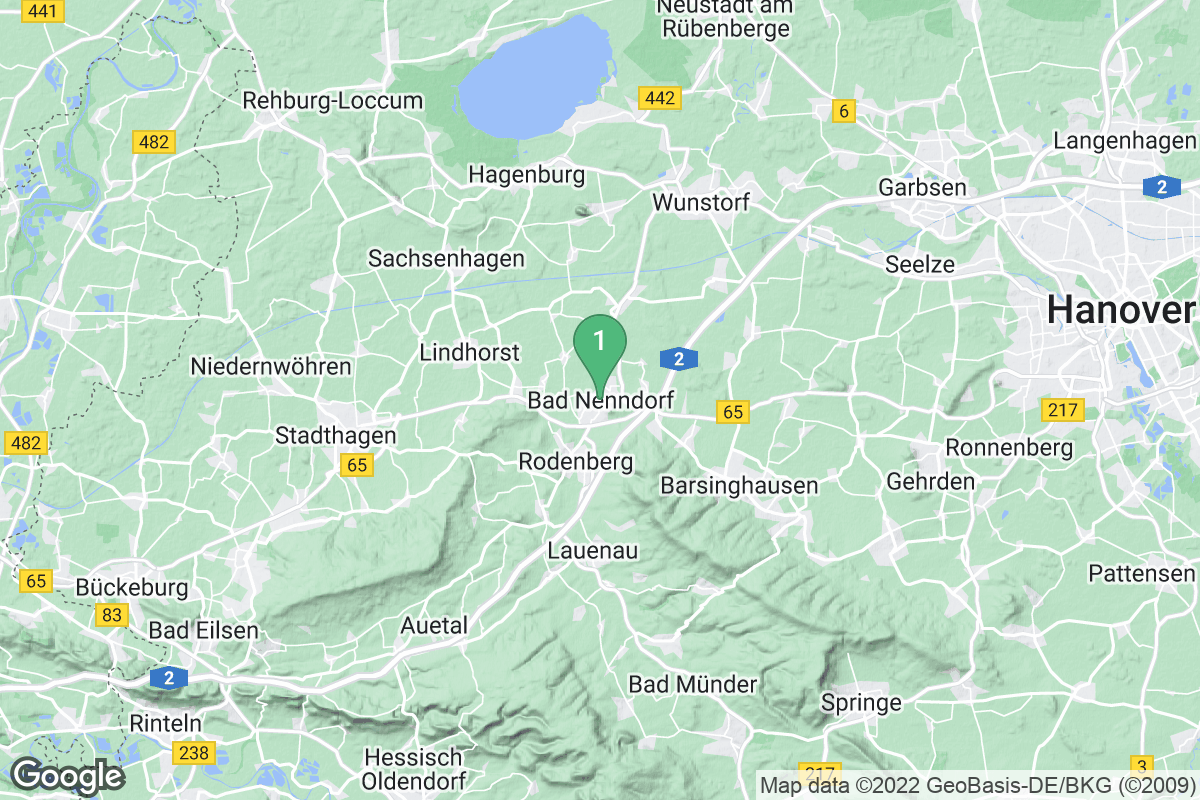 Google Map of Bad Nenndorf