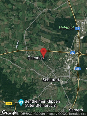 Google Map of Quendorf