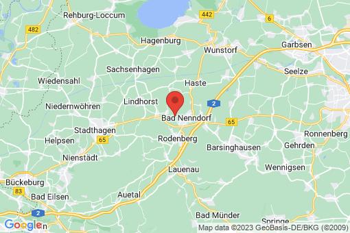 Karte Bad Nenndorf Horsten