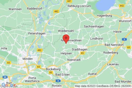 Karte Meerbeck Volksdorf