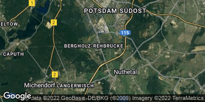 Google Map of Nuthetal
