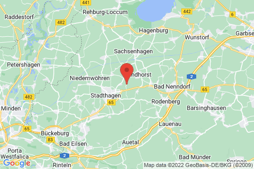Karte Lüdersfeld Vornhagen