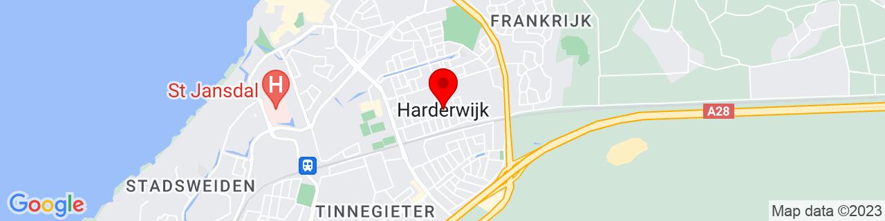 Google Map of 52.3422025, 5.636742300000037