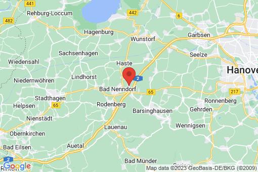 Karte Bad Nenndorf Waltringhausen