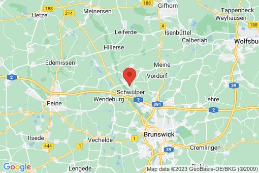 Karte Schwülper
