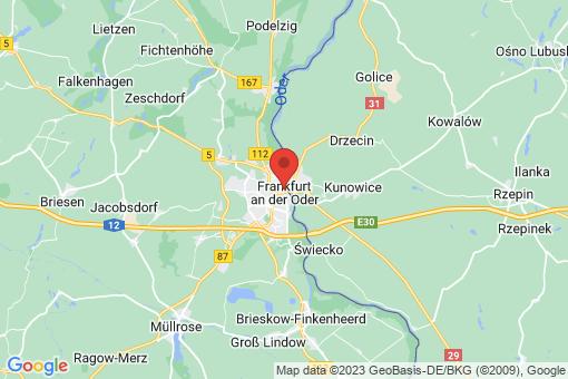 Karte Frankfurt (Oder)