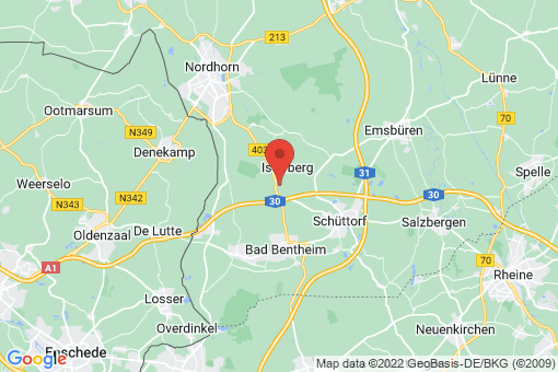 Karte Isterberg