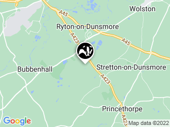 A static map of Ryton Wood