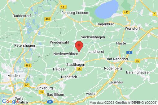 Karte Lauenhagen