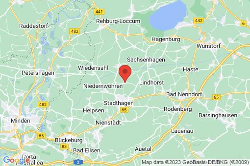 Karte Lauenhagen Lauenhagen
