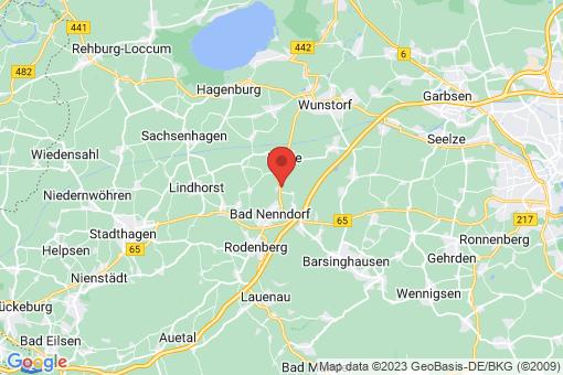 Karte Suthfeld