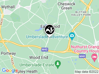 A static map of Earlswood Moathouse