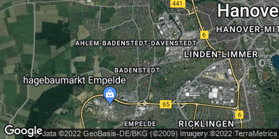 Google Map of Badenstedt