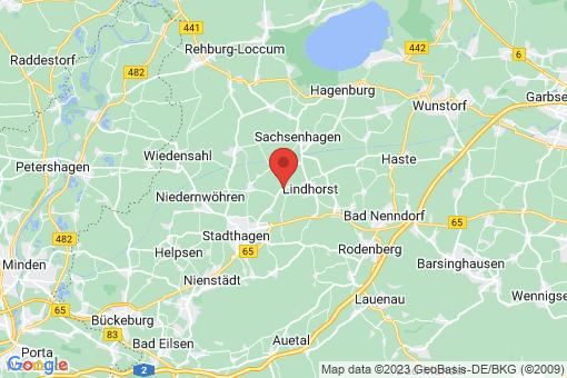 Karte Lüdersfeld Lüdersfeld