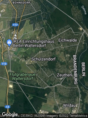 Google Map of Schulzendorf