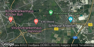 Google Map of Kirchrode