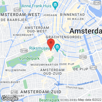 Map of Salvatore Ferragamo at P.C. Hooftstraat 59-61, Amsterdam, Noord-Holland 1071 BN