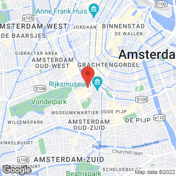 Map of IWC Schaffhausen Boutique – Amsterdam at PC Hooftstraat 49, Amsterdam,  1071BN