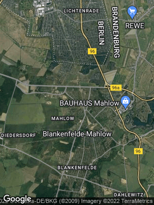 Google Map of Mahlow