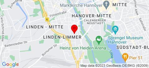 Google Map für Größter Anbieter von 1 & 2 Zimmer Wohnungen!