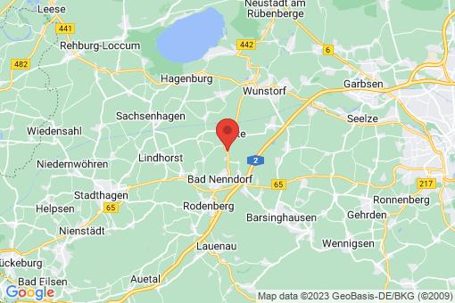 Karte Suthfeld Helsinghausen