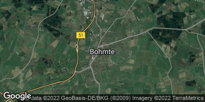 Google Map of Bohmte