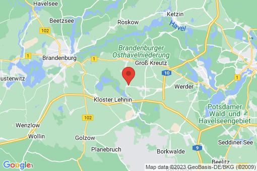 Karte Trechwitz